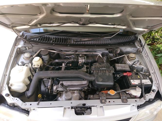 Daihatsu Cuore stock engine (3)