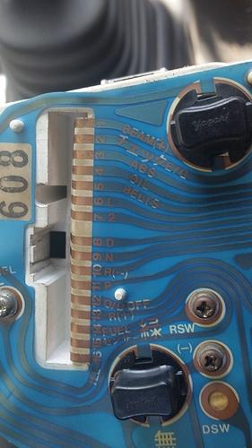 G201 DeTomaso 16 pin socket
