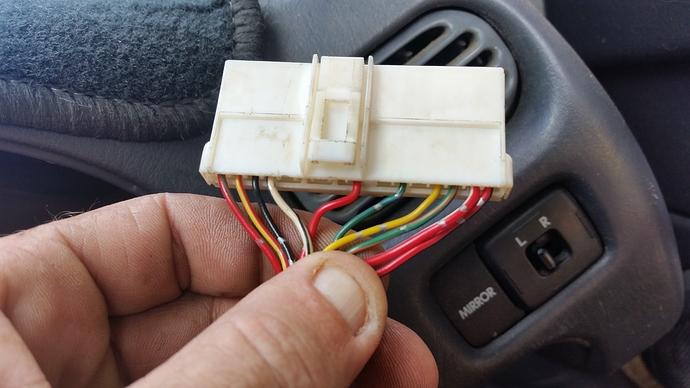 G200 16 pin plug Before