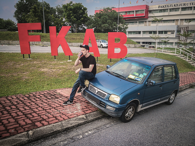 Me being as cool as the Kancil