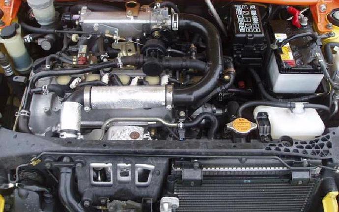 [ขายแล้ว] EF-DET 12V DOHC TURBO 660CC. AT - MIRA L900S Eg