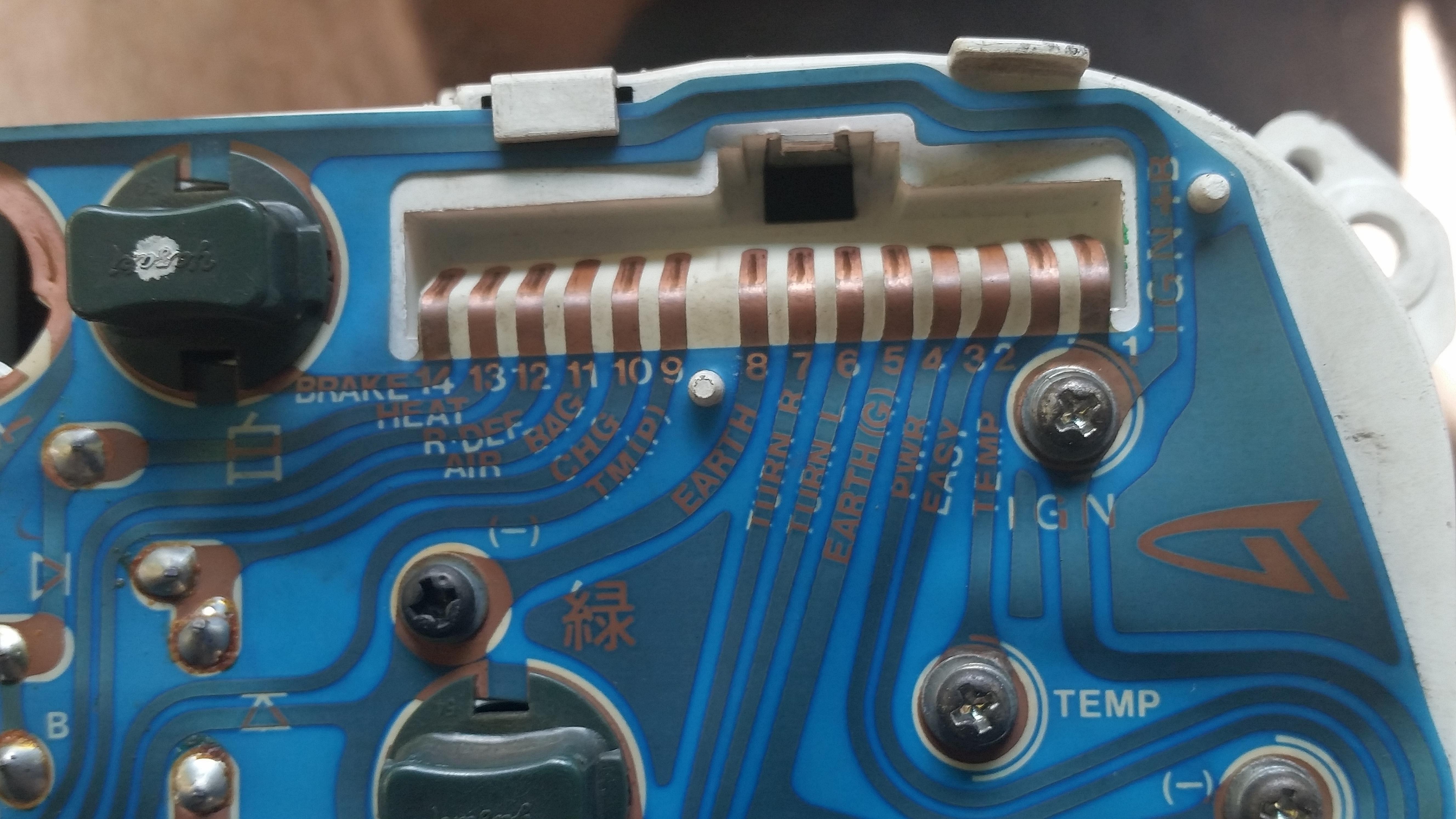 G201 DeTomaso 14 pin socket