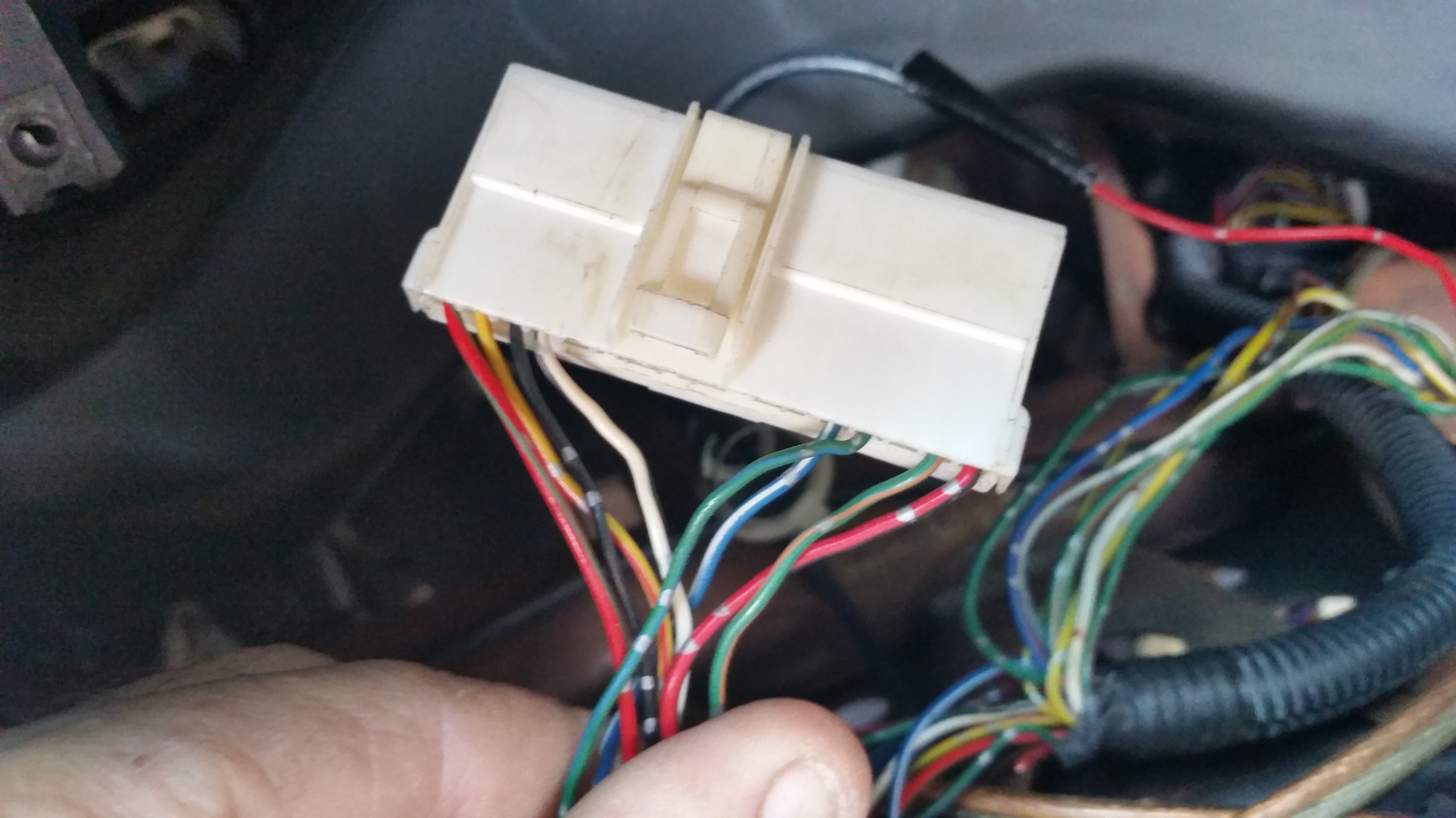 G200 16 pin plug After